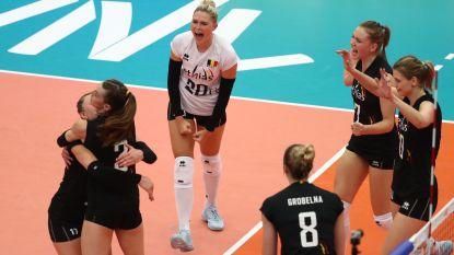 Yellow Tigers stunten tegen Rusland in Women's Nations League Volley