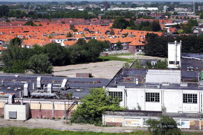 20180517 - Breda - Het terrein van de voormalig Nibb-it/Kerry-fabriek is een verlaten en vervallen terrein dat grenst aan de wijk Tuinzigt.