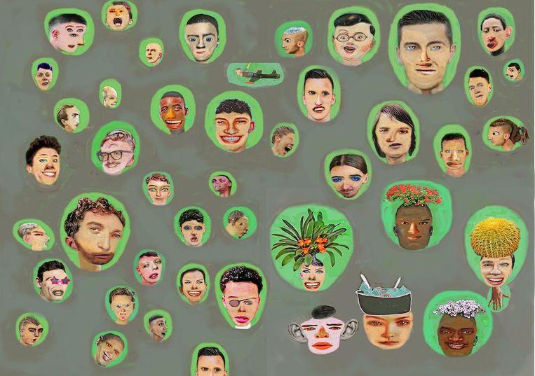 Portretten Beeld Jos Houwelingen