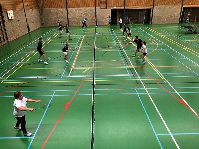 Avondtoernooi bij Badmintonclub Bakel
