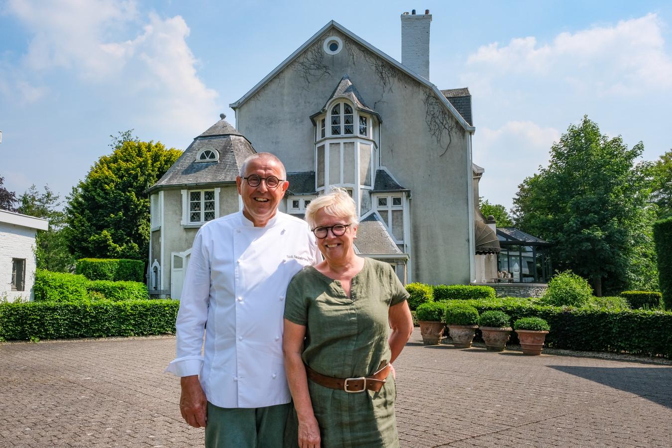 Noël Neckebroeck en zijn vrouw Rita nemen eind juni afscheid van hun restaurant Kasteel Diependael.
