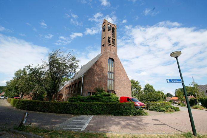 De Hervormde Kerk in Drongelen doet sinds een paar jaar dienst als woonhuis.