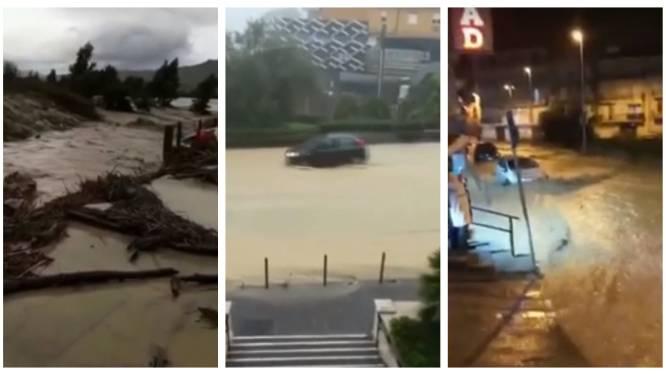 """Deze beelden tonen de zware overstromingen op Sicilië: """"Mensen zitten opgesloten in hun eigen huis, de hele streek is verwoest"""""""
