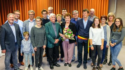 Diamant voor Louis Van Espen en Maria t' Servranckx