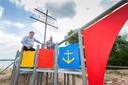 In 2017 waren de eigenaren Ties van Wijk en Frank Cornielje van recreatieplas De Bijland nog helemaal in hun nopjes met een nieuw speeltoestel.