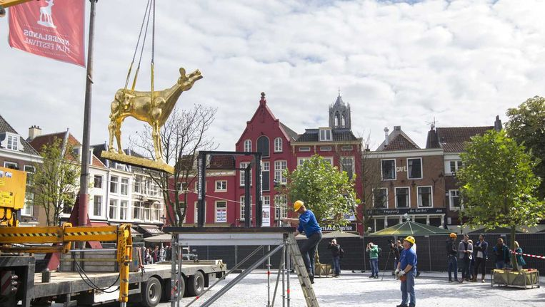 Utrecht, waar net het Nederlands Film Festival van start is gegaan, is ook een van de steden waar wordt geëxperimenteerd met het basisinkomen. Beeld anp
