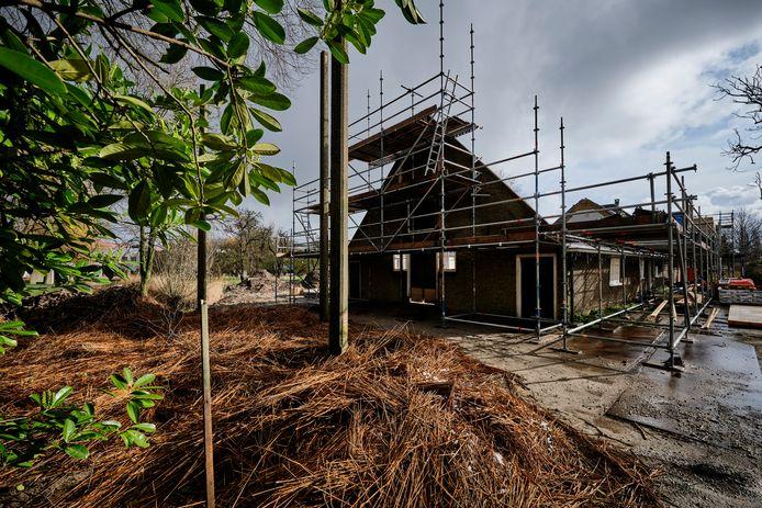 Verbouwing van een boerderij.