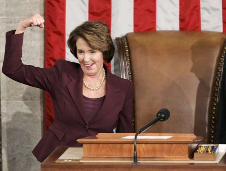 Nancy Pelosi. Beeld UNKNOWN