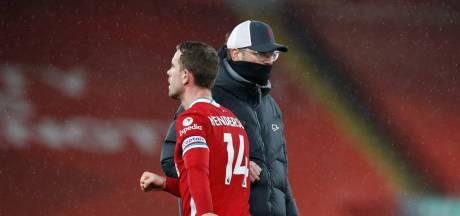 Weer dreun voor Liverpool: 'We zien er mentaal en fysiek niet fris uit'
