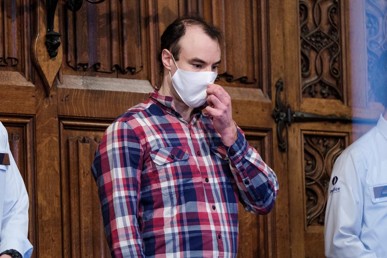 Sami Haenen lors de son procès, le 6 octobre 2021.