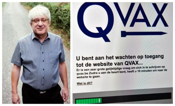Topambtenaar Frank Robben beheert onder meer QVAX.be.