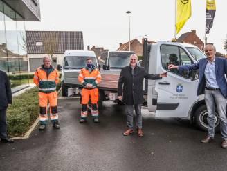 Stad Mesen neemt nieuwe bestelwagen in gebruik