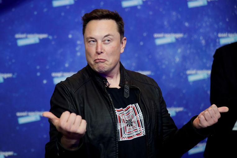 Elon Musk. Beeld REUTERS