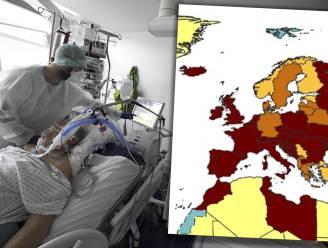 Nu al bijna driekwart Europese landen rood: ook Duitsland, Denemarken en Zweden beginnen weg te glijden