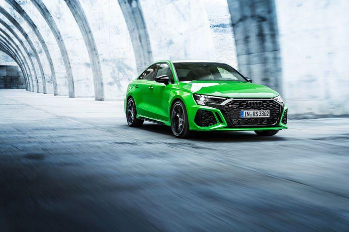De nieuwe Audi RS3 krijgt een 400 pk sterke vijfcilinder
