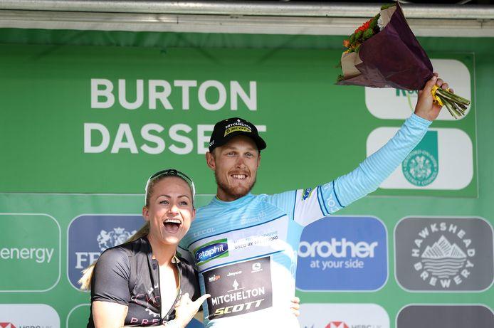 Matteo Trentin won recentelijk nog een rit in de Ronde van Groot-Brittannië.