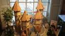 Mooie miniaturen in het Begijnhof Breda tijdens de Nassaudag.
