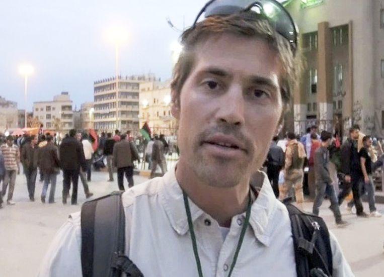 De Amerikaanse fotograaf James Foley werd onthoofd door strijders van IS.