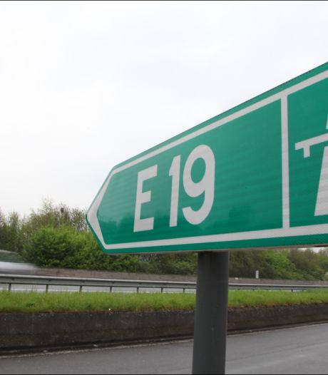 Début de la deuxième phase des travaux sur l'E19 en direction de Bruxelles