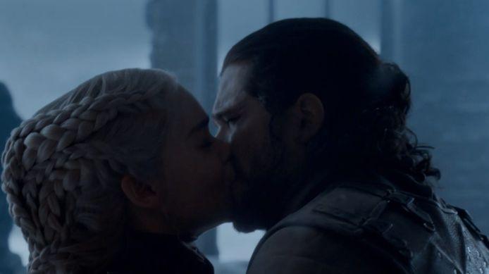 Nog een passionele kus...
