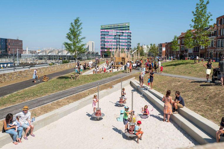 Het eerste deel van het nieuwe Park Belle Vue werd zaterdag feestelijk geopend.