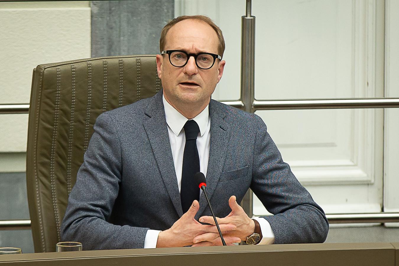 Ben Weyts, Vlaams minister van Onderwijs.