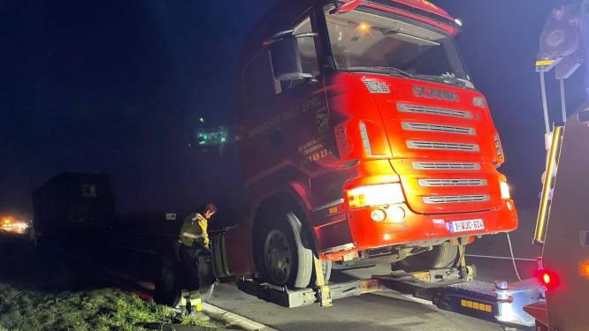 Waalse trucker strandt in alle vroegte langs A19 in Wevelgem