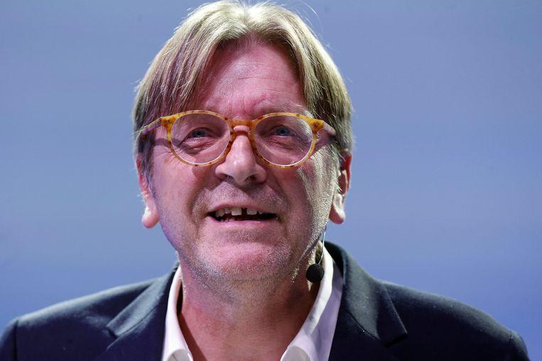 Guy Verhofstadt. Beeld BELGA