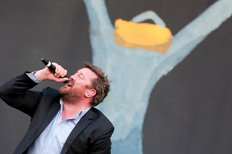 Elbow op Rock Werchter 2011 Beeld Humo / Eddy Petroons