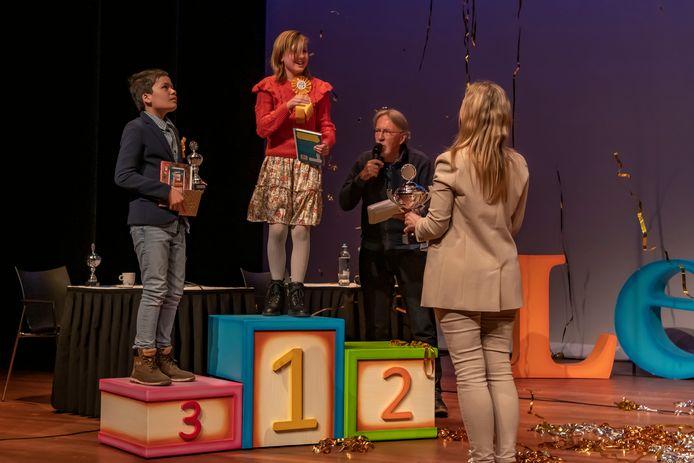 Goirle - Pix4Profs - Joris Buijs Brabantse finale Nationale Voorleeswedstrijd in Jan van Besouw