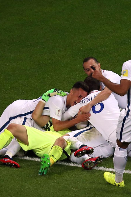 Claudio Bravo stopt alle penalty's: Chili naar finale