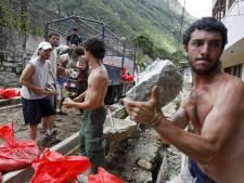 L'évacuation des touristes bloqués au Machu Picchu s'accélère