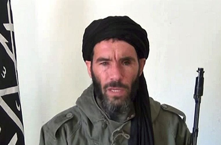 Mokhtar Belmokhtar, de leider van de islamitische groepering die de gijzeling heeft opgeëist. Beeld AFP