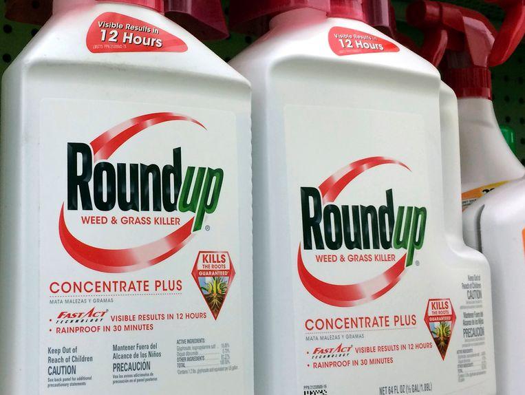 Onkruidverdelger Roundup.