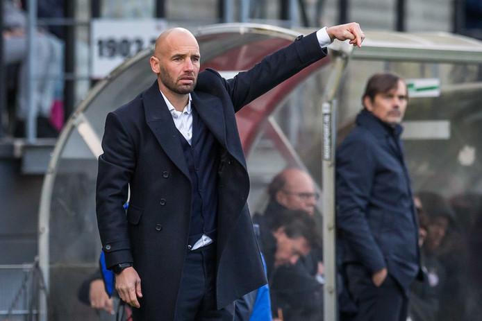 Het Excelsior van trainer Mitchell van der Gaag maakte het PSV afgelopen zondag heel lastig.