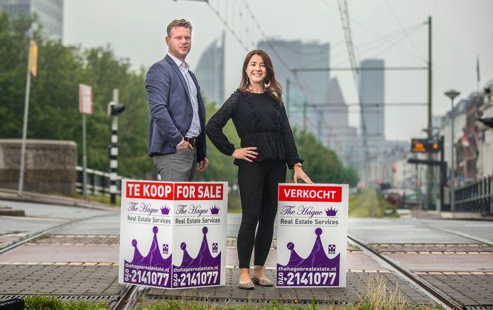 Makelaar The Hague Real Estate Services. Eric Meijboom en Suzanne van der Horst.