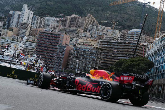 Max Verstappen won de GP van Monaco eerder dit seizoen.