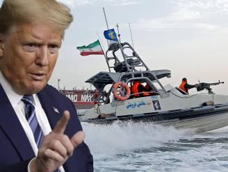 """Trump dreigt met agressie tegen Iraanse marine: """"Beschieten en vernietigen"""""""
