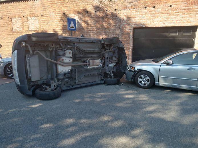 De schade was aanzienlijk na het ongeval.