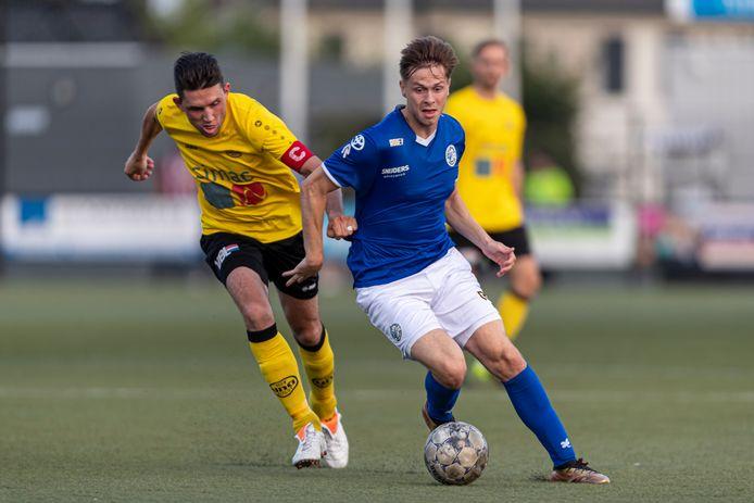 Geen hoofdsponsor op het shirt van FC Den Bosch in de voorbereiding.