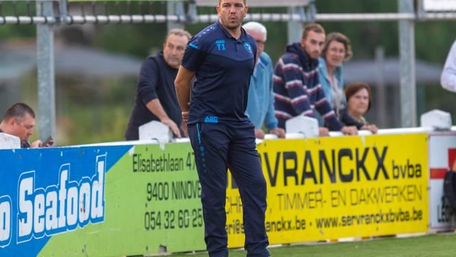 """Alan Haydock staat met Ninove voor lastige verplaatsing naar Petegem: """"Niet euforisch, wel heel tevreden als coach"""""""