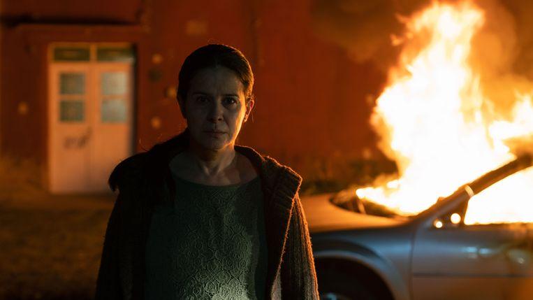 Arcelia Ramírez als Cielo in 'La Civil'. Beeld rv