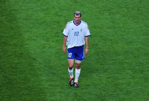 Zinedine Zidane. EPA