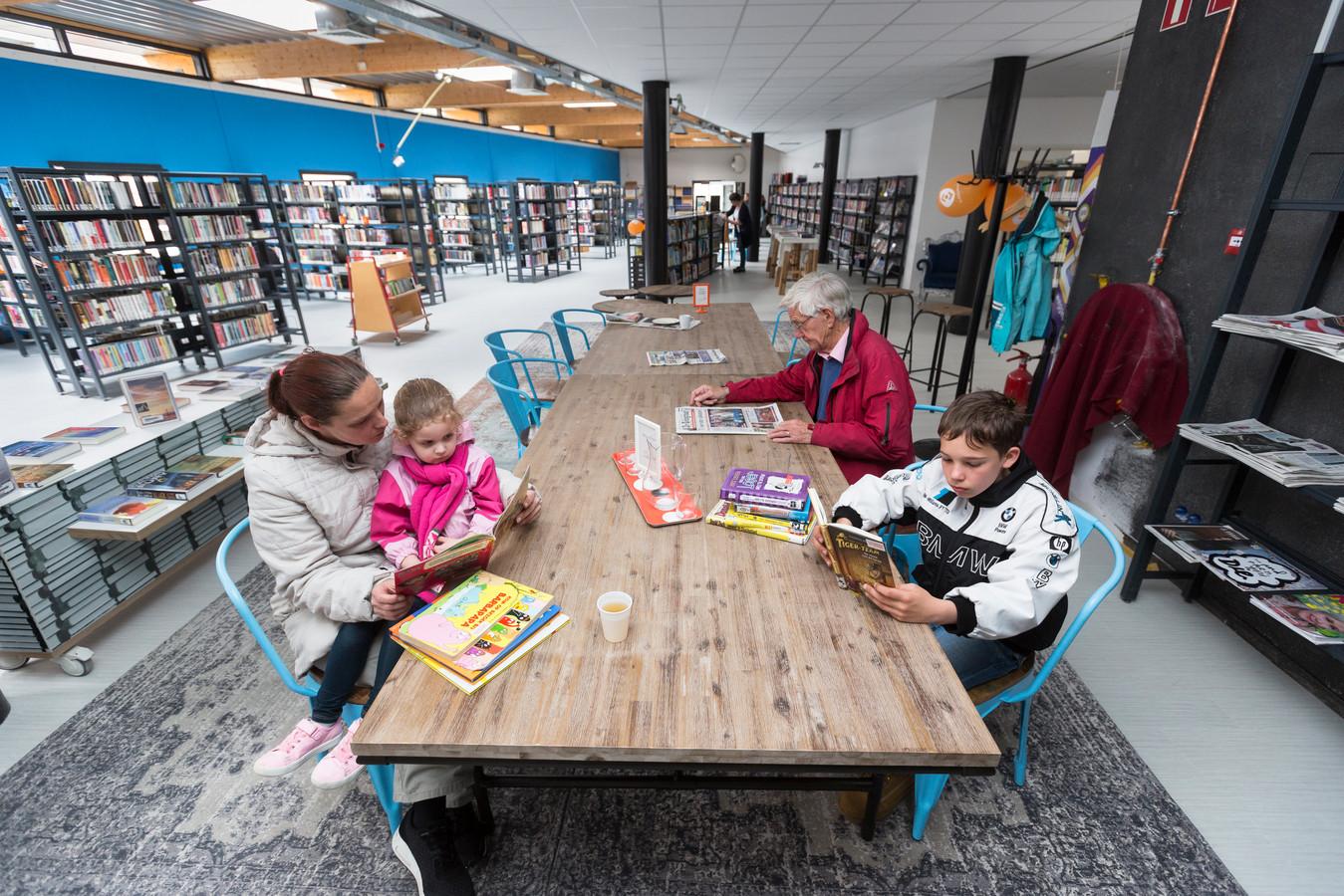 De bibliotheek in Westervoort.