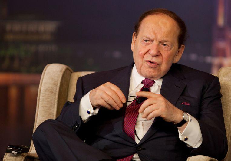 Sheldon Adelson. Beeld EPA