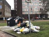 Inhaalslag moet afvalberg op straat in Arnhem doen slinken
