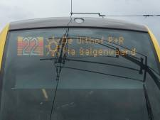 Tijdelijk geen trams op de Uithoflijn door wisselstoring