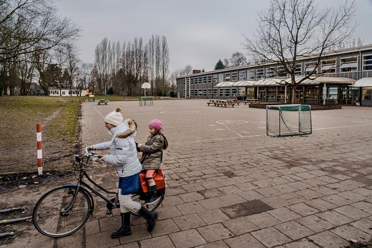 De GO!-basisschool in Merelbeke.  Beeld Eric de Mildt