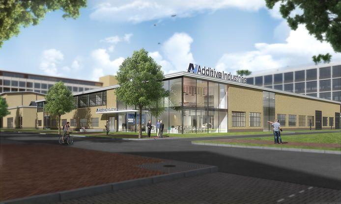 Nieuw gebouw van Additive Industries op Strijp T.