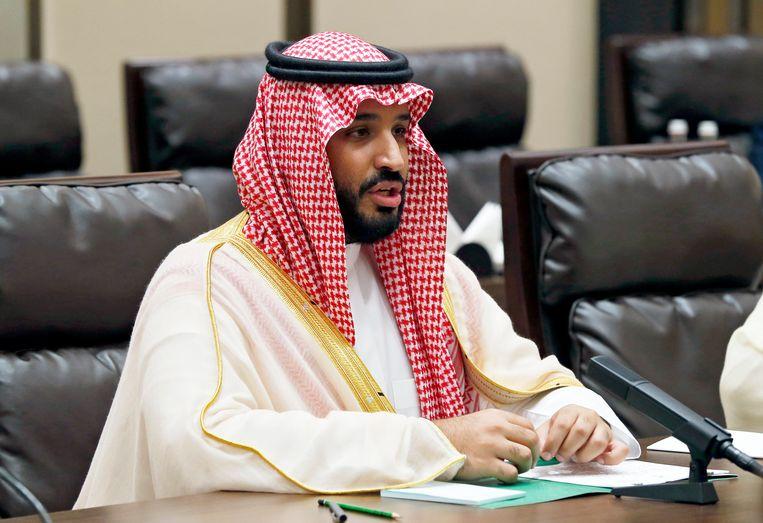 Prins Mohammad bin Salman Beeld epa